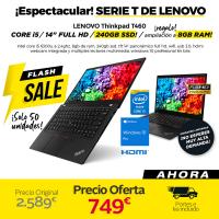 Lenovo Tinkpad T460 (Negro)