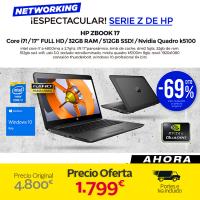 HP Zbook 17 (Negro)