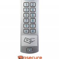 Teclado de Control de Acceso con lector de tarjetas RFID K6 CAMTRONIC