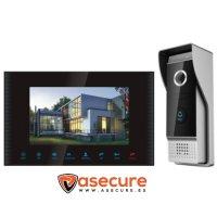 Vídeo interocomunicador con toma de imágenes y alarma VP 4010WDVR
