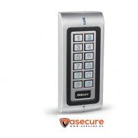 Teclado control acceso con lector de tajetas W1-A Sebury