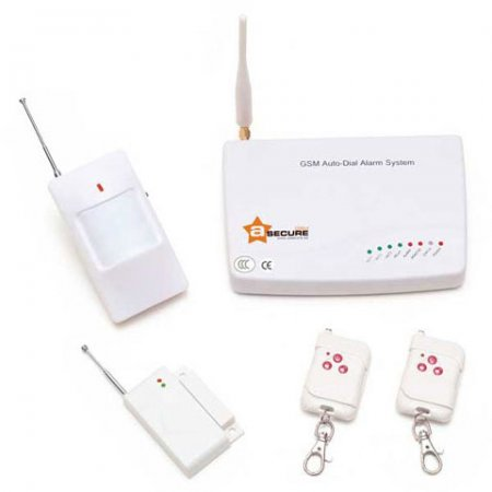 Alarma GSM V2 + Detector de Gas Inalámbrico aSecure de Regalo