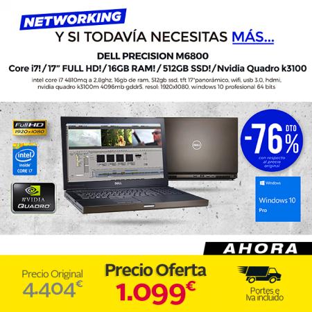 Dell Precision M6800 (Negro)